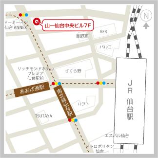 仙台支社地図