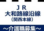 JR大和路線沿線