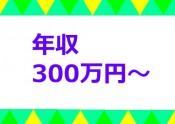 年収300万円~