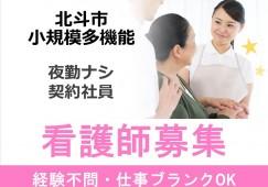 【北斗市/小規模多機能型】★契約職員★看護師★ イメージ