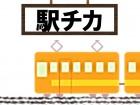 駅目の前で通勤ラクラク(*'▽')