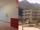 施設の外観と居室の様子