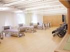 実習スペースは広くてきれいな環境です。