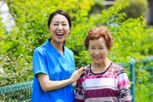 おばあさんと私